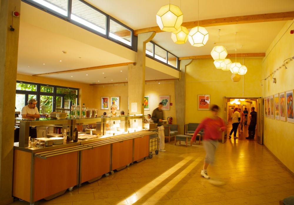 Caféteria in der Rolandstraße