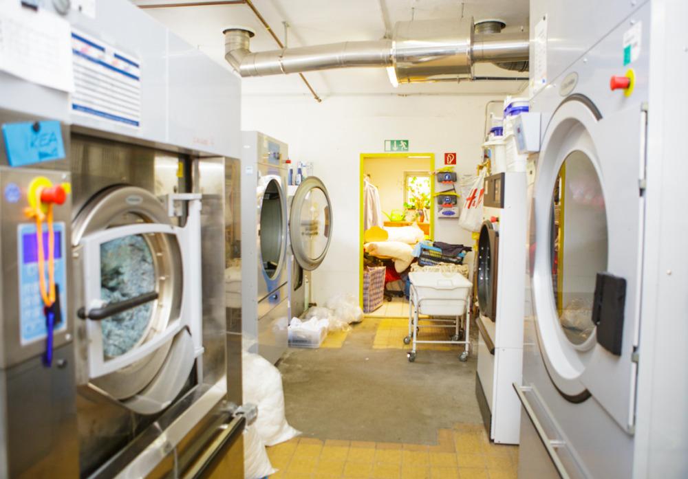 Wäscherei der Kaspar Hauser Stiftung