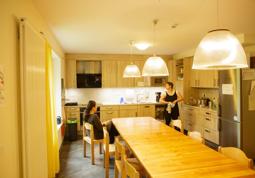 Küche der Wohnstätte