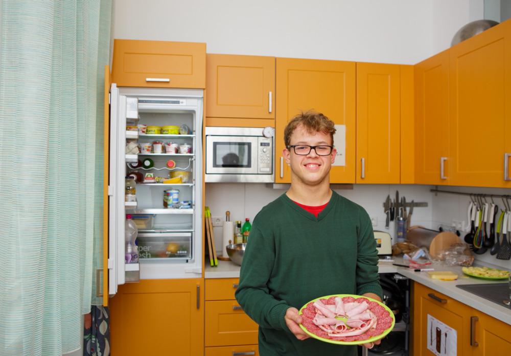 Küche der Wohngemeinschaft