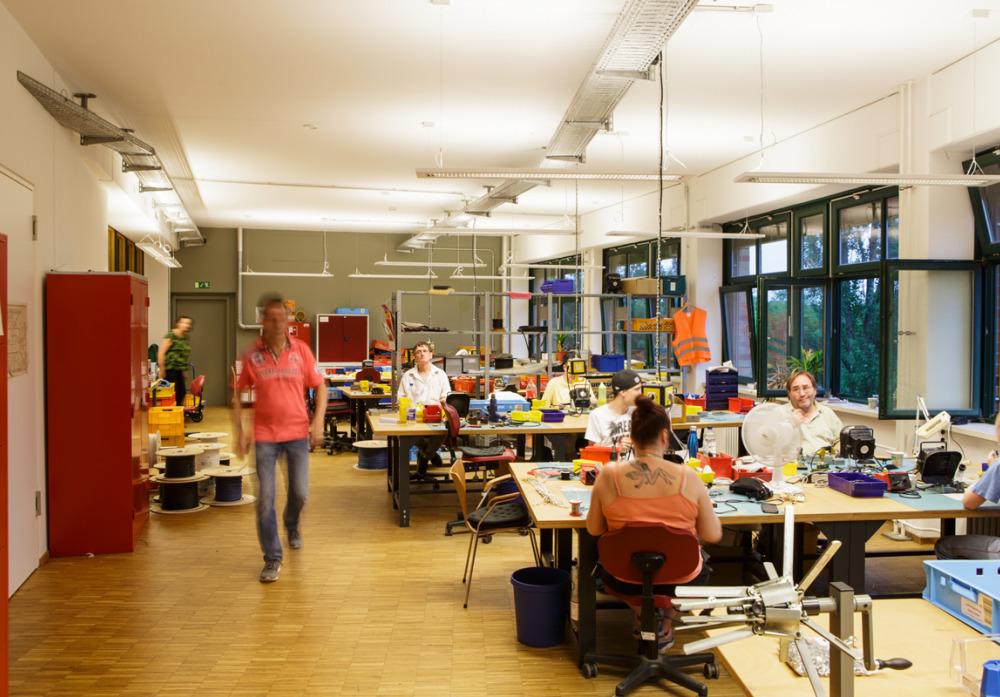 Die Elektromontagewerkstatt der Kaspar Hauser Stiftung