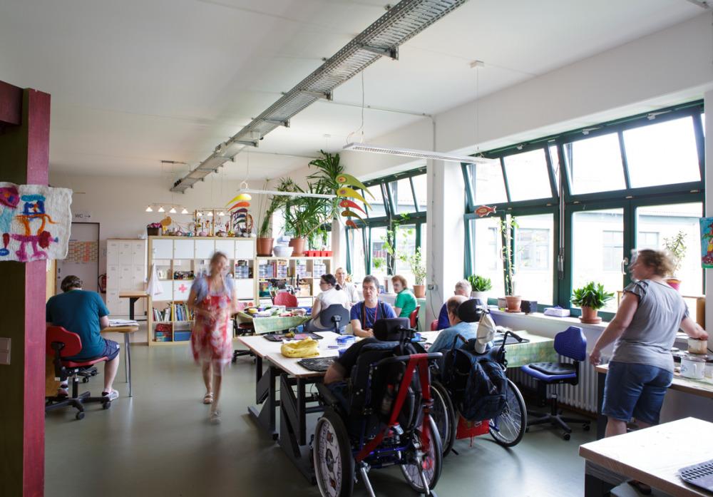 Die Kreativwerkstatt der Kaspar Hauser Stiftung