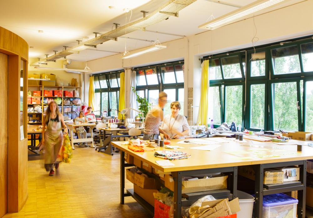 Die Textilwerkstatt der Kaspar Hauser Stiftung