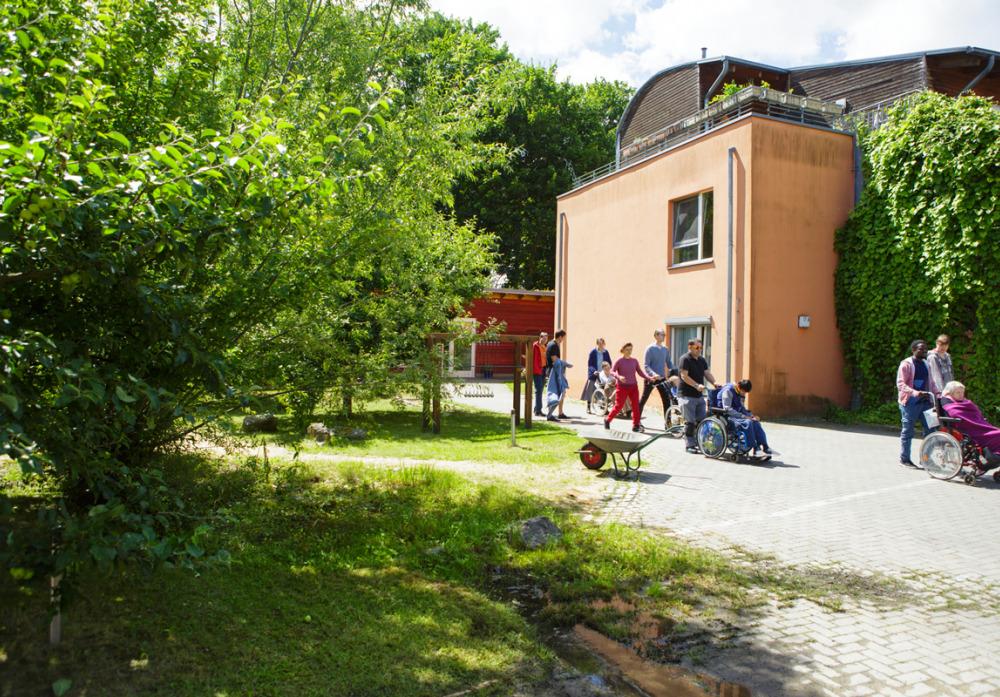 Wohnstätte und ABFB Rolandstrasse