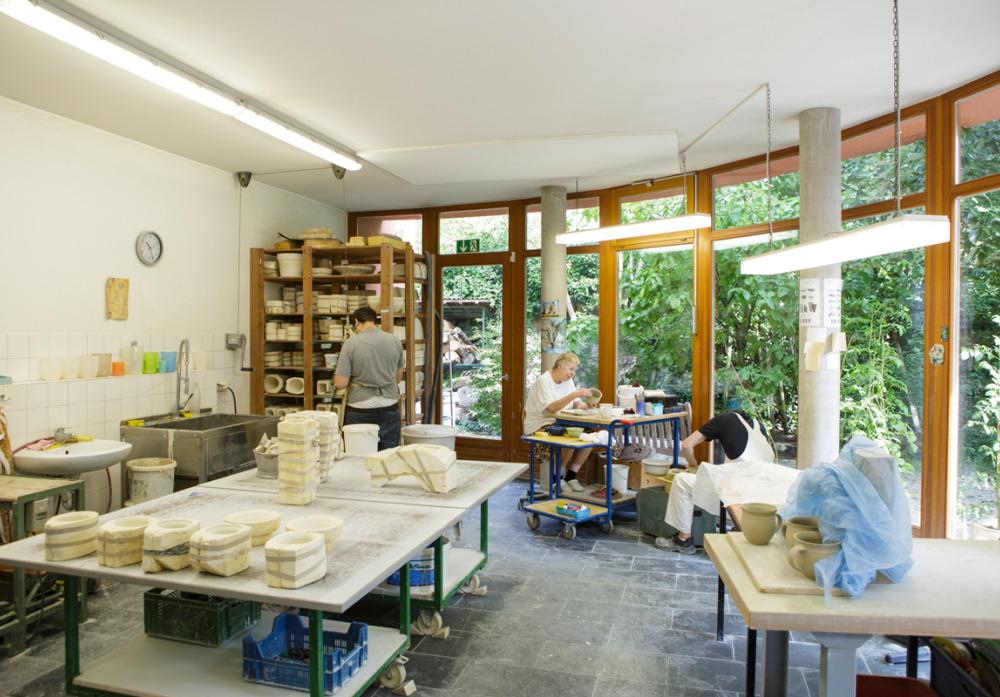 Die Keramikwerkstatt der Kaspar Hauser Stiftung