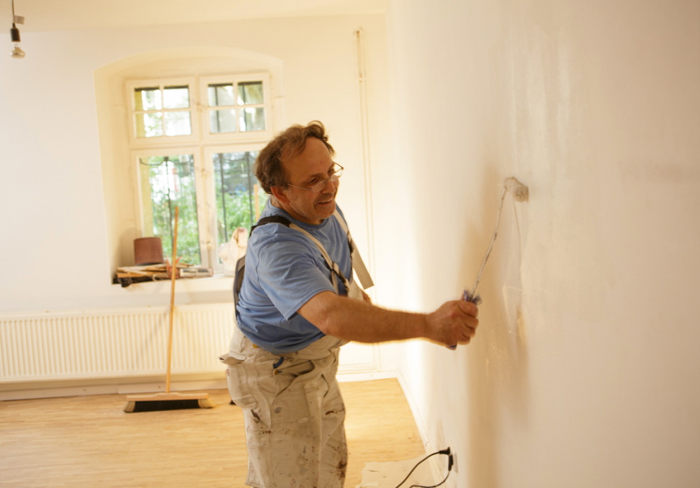 Malern und Renovierungsarbeiten