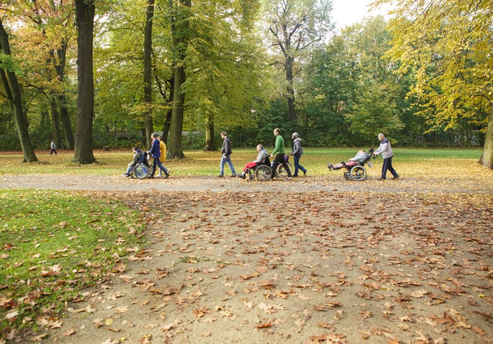 Spaziergang im Schloßpark