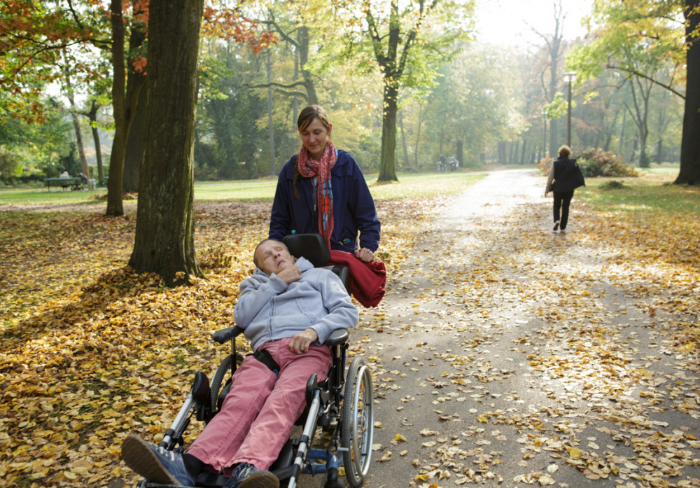 Spaziergang im Schloßpark Pankow