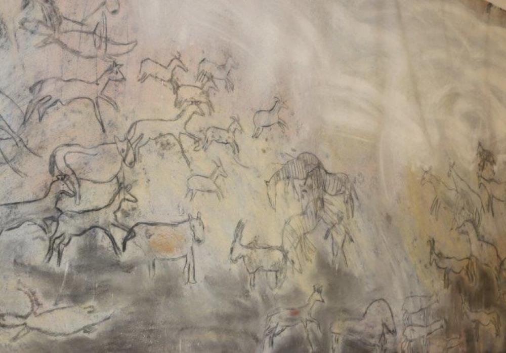 """Kunstprojekt """"Felsenbilder"""""""