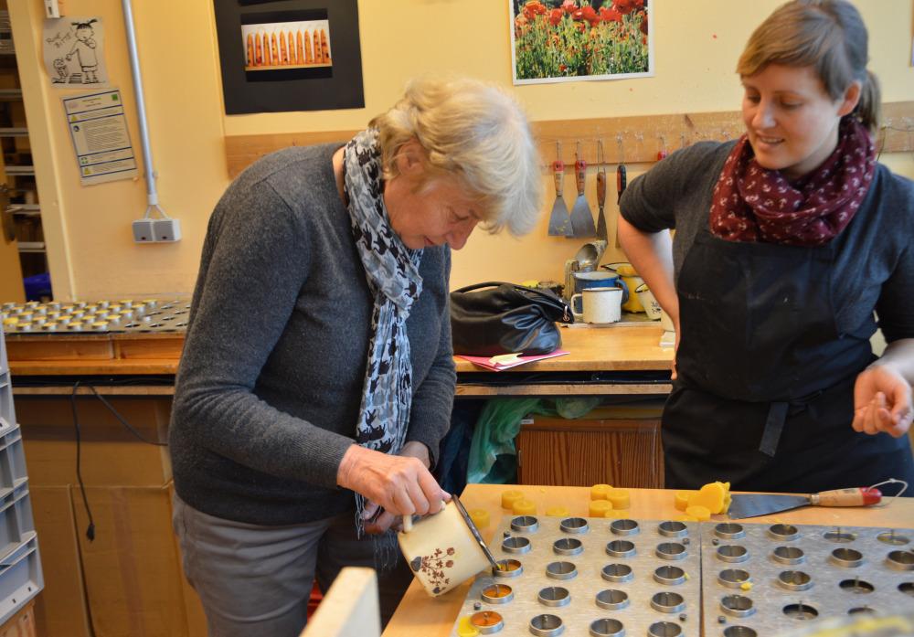 Barbara John, Vorstandsorsitzene des Paritätischen Wohlfahrtsverbandes Berlin, zu Besuch